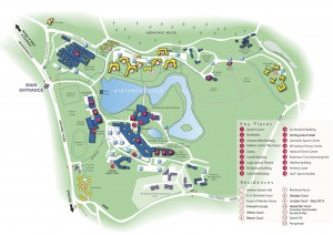 University of Stirling Campus Map